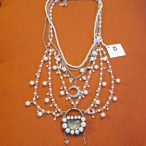 Dannijo Pearl and Crystals necklace